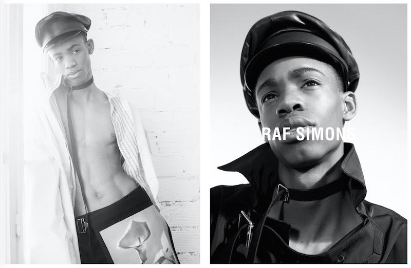 Raf Simons Spring/Summer 2017 Campaign Raf Simons Spring/Summer 2017 Campaign Vanity Teen 虚荣青年 Menswear & new faces magazine