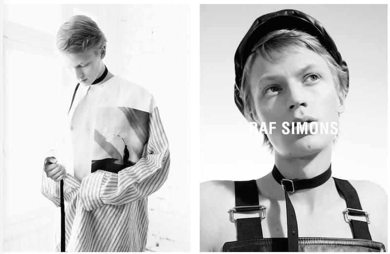 Raf Simons Spring/Summer 2017 Campaign Raf Simons Spring/Summer 2017 Campaign Vanity Teen 虚荣青年 Lifestyle & new faces magazine