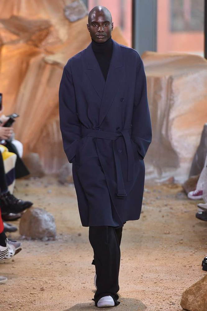 431a241711a Lacoste Fall Winter 2017.18 menswear collection during New York Fashion  Week.