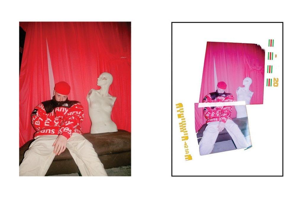 Supreme x The North Face Editorial Supreme x The North Face Editorial Vanity Teen 虚荣青年 Menswear & new faces magazine