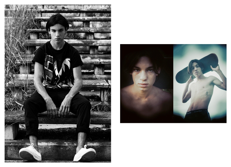 Ale Glikman by Sebas Guajardo - Part I Ale Glikman by Sebas Guajardo - Part I Vanity Teen 虚荣青年 Menswear & new faces magazine