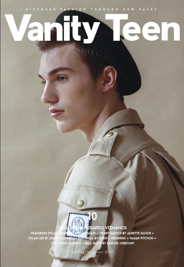 Vanity Teen 10 Spring Summer 2017 Zach Cox