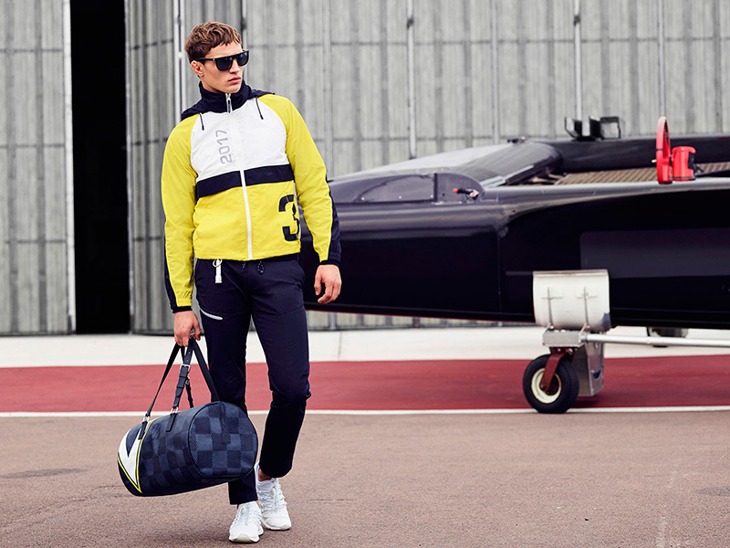 Louis Vuitton America's Cup Collection Louis Vuitton America's Cup Collection Vanity Teen 虚荣青年 Lifestyle & new faces magazine