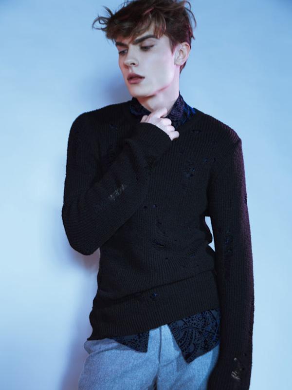 Kristophs by Darren Brade Kristophs by Darren Brade Vanity Teen Menswear & new faces magazine