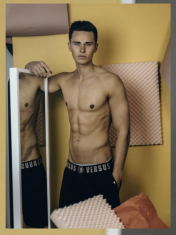 Luc V by Dominik H Mueller Vanity Teen Menswear Magazine