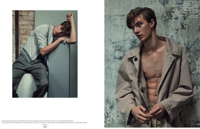 Lucky Blue Smith for Narcisse Magazine Lucky Blue Smith for Narcisse Magazine Vanity Teen 虚荣青年 Lifestyle & new faces magazine