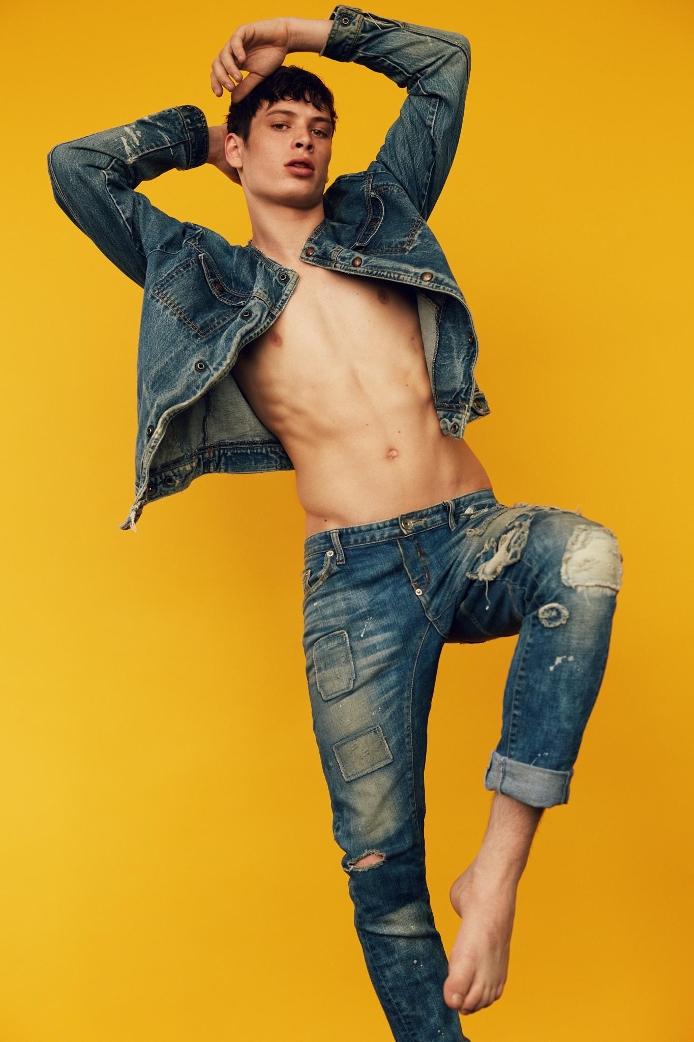 Sean Stewart by Sacha Cohen Vanity Teen Menswear Magazine