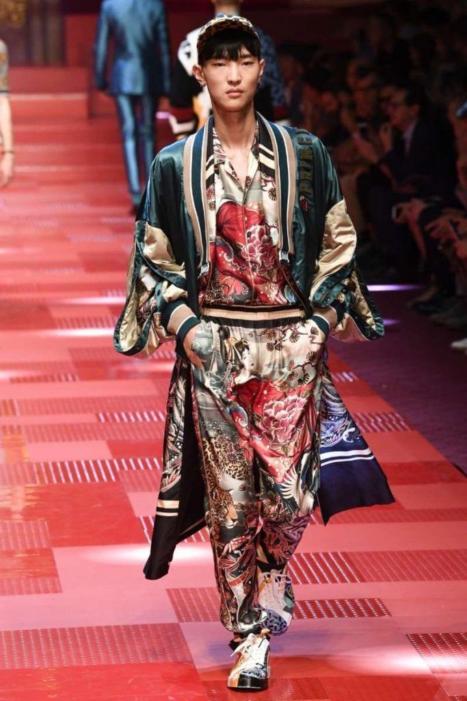 Dolce & Gabbana S/S 2018 Dolce & Gabbana S/S 2018 Vanity Teen Menswear & new faces magazine
