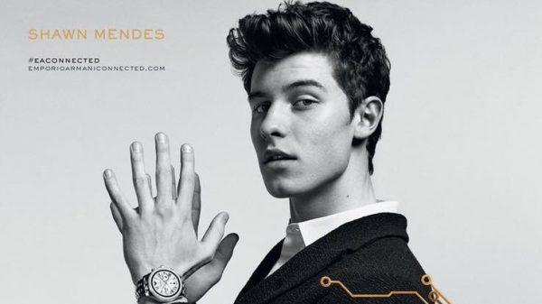 Shawn Mendes Starts in Emporio Armani ''Connected'' Campaign  Shawn Mendes Starts in Emporio Armani ''Connected'' Campaign Vanity Teen Menswear & new faces magazine