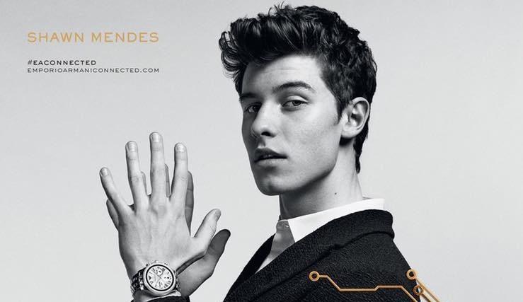 Shawn Mendes Starts in Emporio Armani ''Connected'' Campaign Shawn Mendes Starts in Emporio Armani ''Connected'' Campaign Vanity Teen 虚荣青年 Menswear & new faces magazine