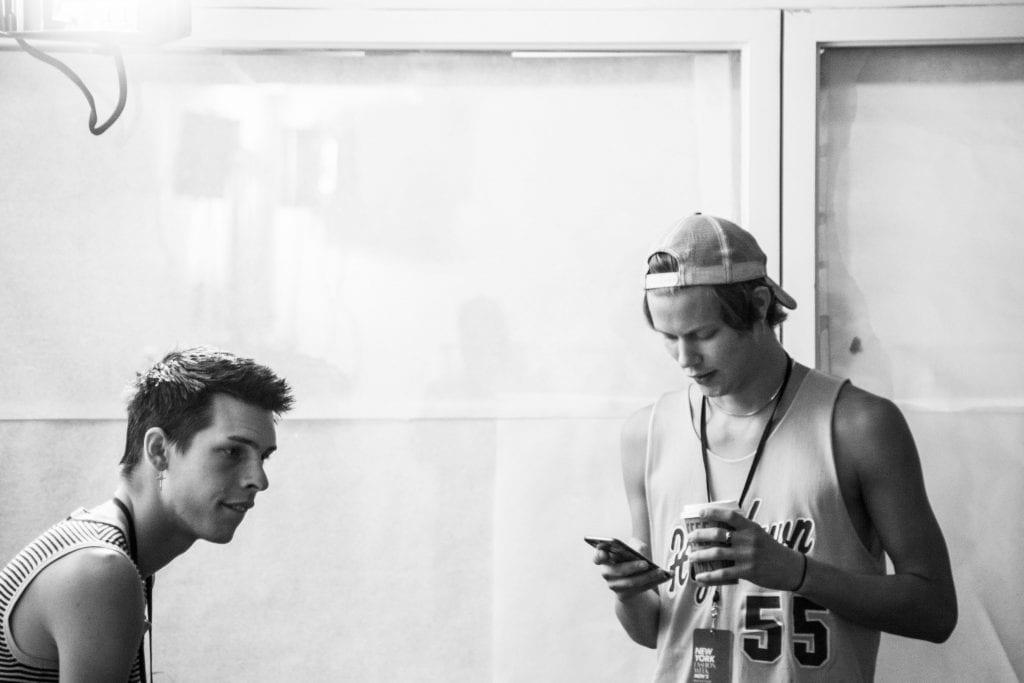Backstage: N-p-Elliott S/S 2018  Backstage: N-p-Elliott S/S 2018 Vanity Teen Menswear & new faces magazine