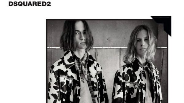 Dsquared2 F/W 2017  Dsquared2 F/W 2017 Vanity Teen Menswear & new faces magazine