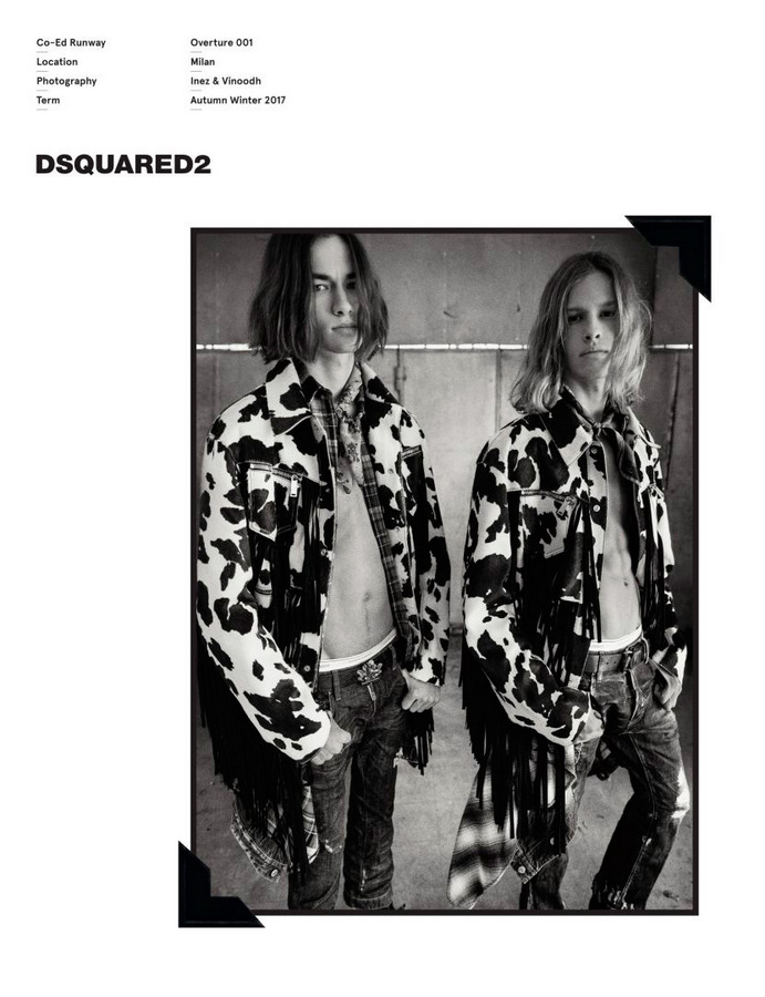 Dsquared2 F/W 2017