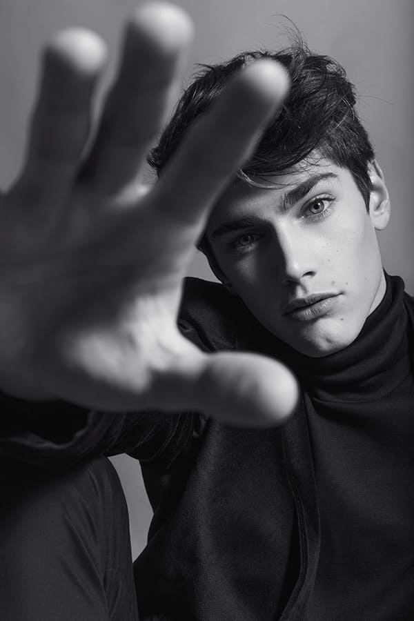 NEW FACES Gino Pasqualini by Celeste Russo