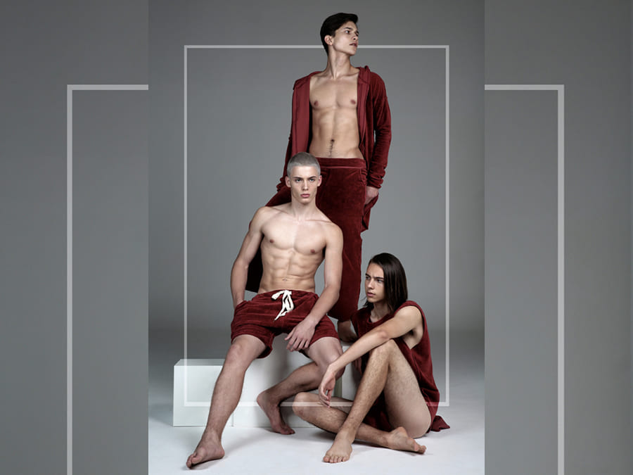 Les Trois by Beauté Killers Les Trois by Beauté Killers Vanity Teen 虚荣青年 Menswear & new faces magazine