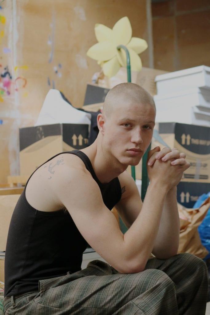 Michael Oder by Joaquin Castillo Michael Oder by Joaquin Castillo Vanity Teen 虚荣青年 Menswear & new faces magazine