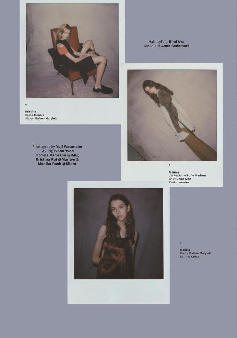 VT Girl 2: Polaroids by Yuji Watanabe
