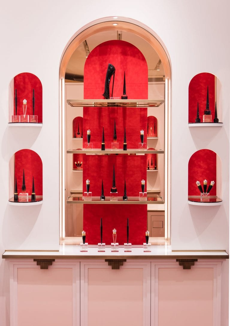 Discover The New Christian Louboutin Beauty at Printemps Beauté Boutique