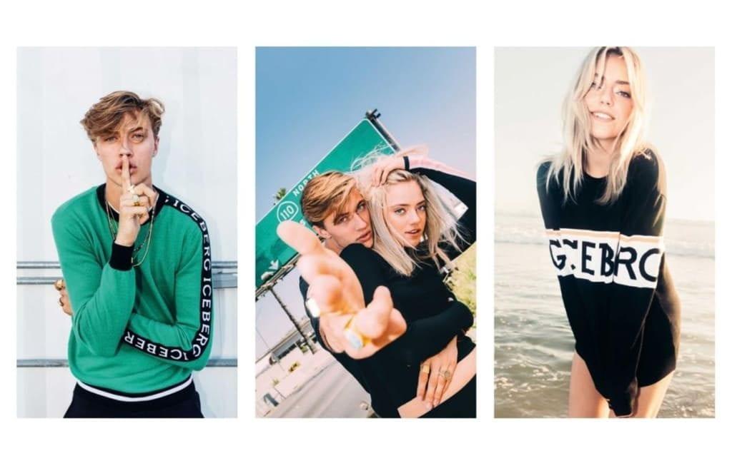 Lucky Blue Smith & Pyper America Star on Iceberg's F/W 2017 Campaign Lucky Blue Smith & Pyper America Star on Iceberg's F/W 2017 Campaign Vanity Teen 虚荣青年 Menswear & new faces magazine