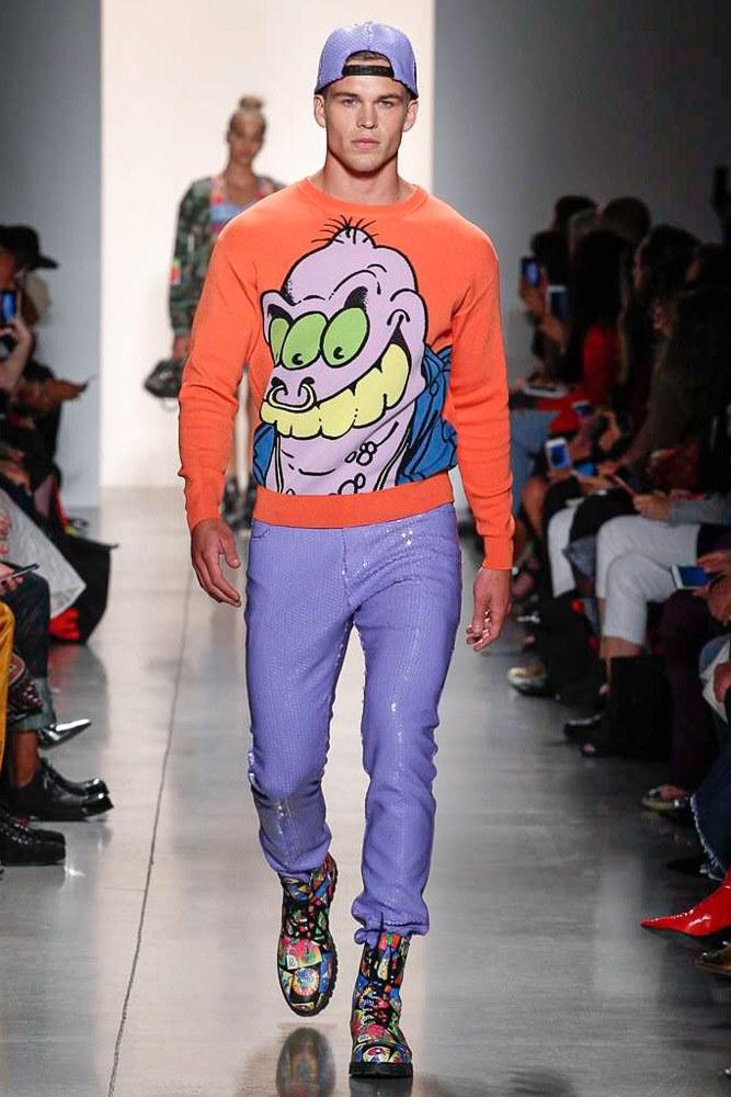 Jeremy Scott S/S 2018  Jeremy Scott S/S 2018 Vanity Teen Menswear & new faces magazine