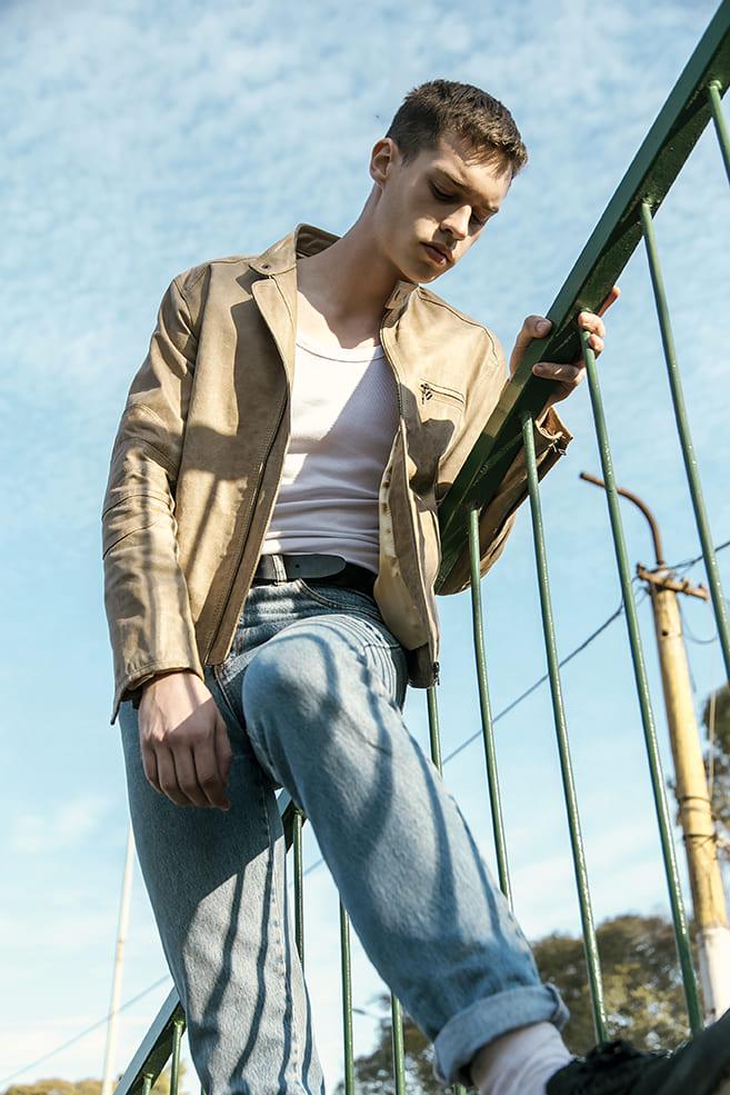 Mijael Slot by Joel Beraldi Mijael Slot by Joel Beraldi Vanity Teen 虚荣青年 Menswear & new faces magazine