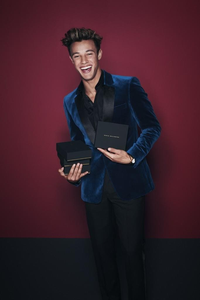 Cameron Dallas stars in Daniel Wellington Holiday 2017 Campaign