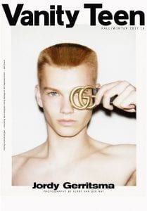 1/4. Jordy Gerritsma Covers Our Autumn 2017 Issue