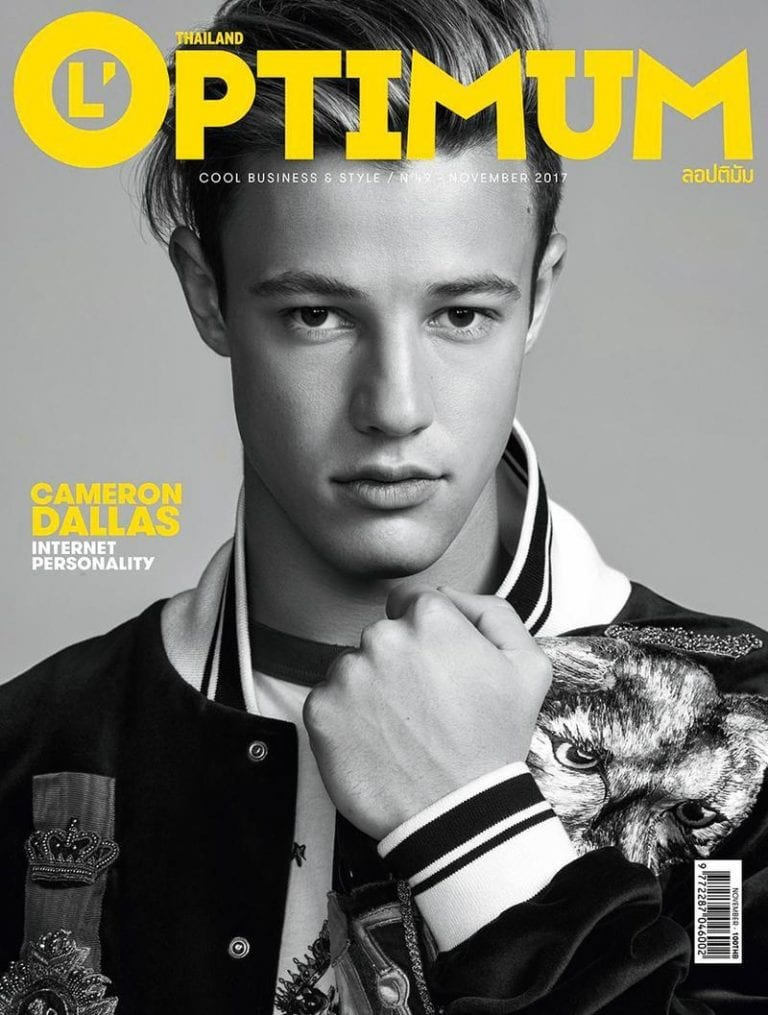 Cameron Dallas L´OPTIMUM Thailand