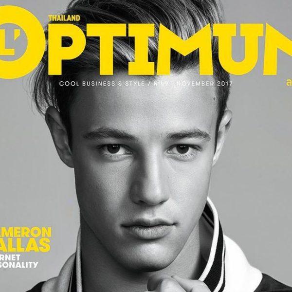Cameron Dallas L´OPTIMUM Thailand Cameron Dallas L´OPTIMUM Thailand Vanity Teen 虚荣青年 Menswear & new faces magazine