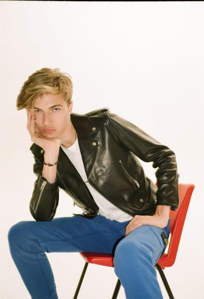 Lucky Blue Smith for British GQ Lucky Blue Smith for British GQ Vanity Teen 虚荣青年 Menswear & new faces magazine