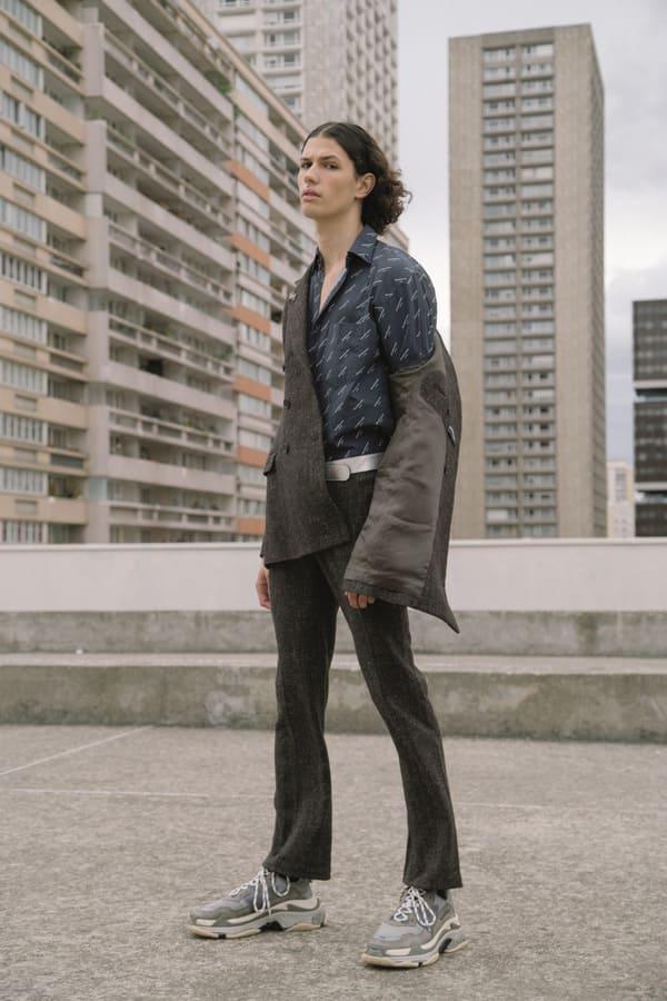 VT Fall Winter 2017.18 : Lucas Santoni by Giuseppe Triscari VT Fall Winter 2017.18 : Lucas Santoni by Giuseppe Triscari Vanity Teen 虚荣青年 Menswear & new faces magazine