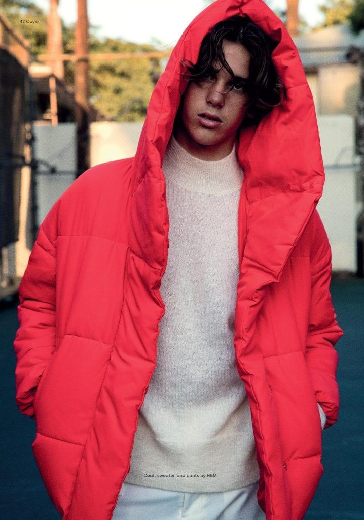Cover Story - Paris Brosnan by Mitchell McCormack Cover Story - Paris Brosnan by Mitchell McCormack Vanity Teen 虚荣青年 Menswear & new faces magazine