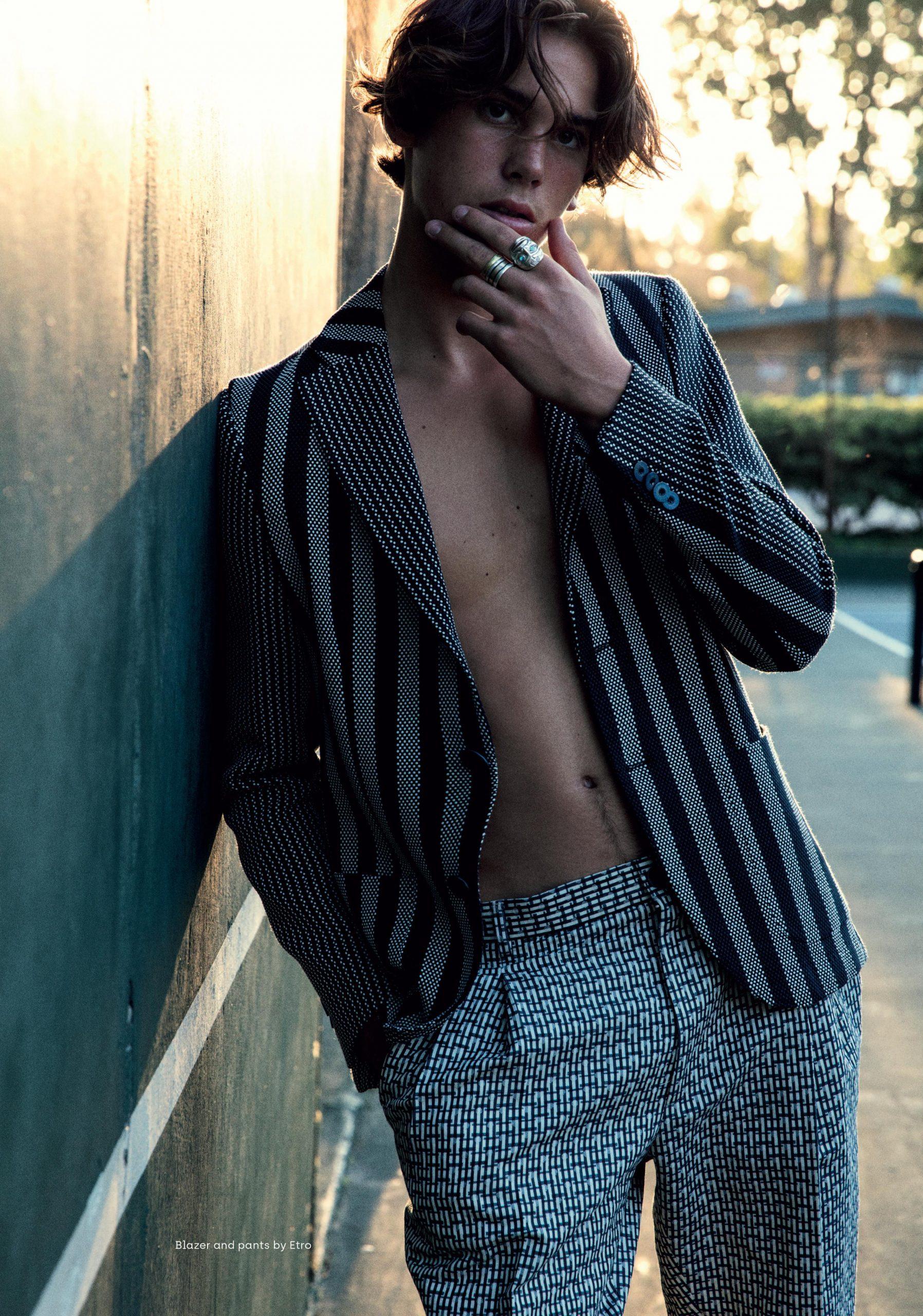 Cover Paris Brosnan by Mitchell McCormack Vanity Teen Men ...