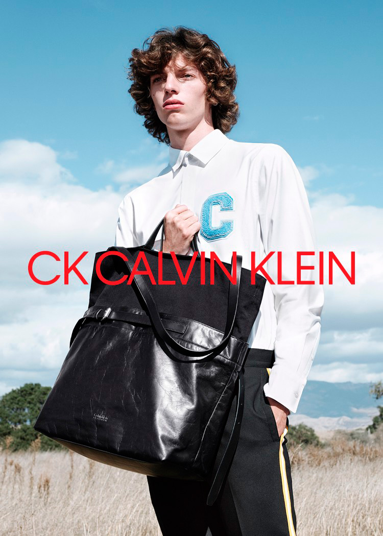 CK Calvin Klein S/S 2018