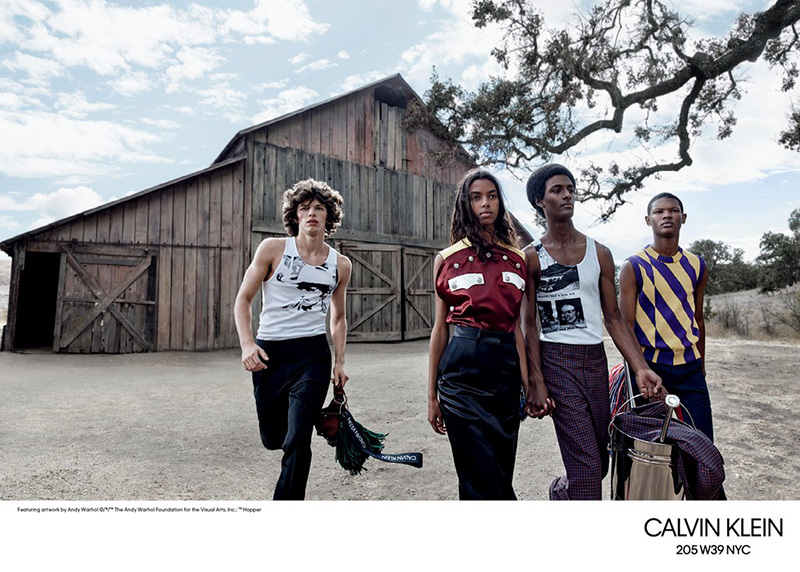 Calvin Klein 205W39NYC S/S 2018  Calvin Klein 205W39NYC S/S 2018 Vanity Teen Menswear & new faces magazine