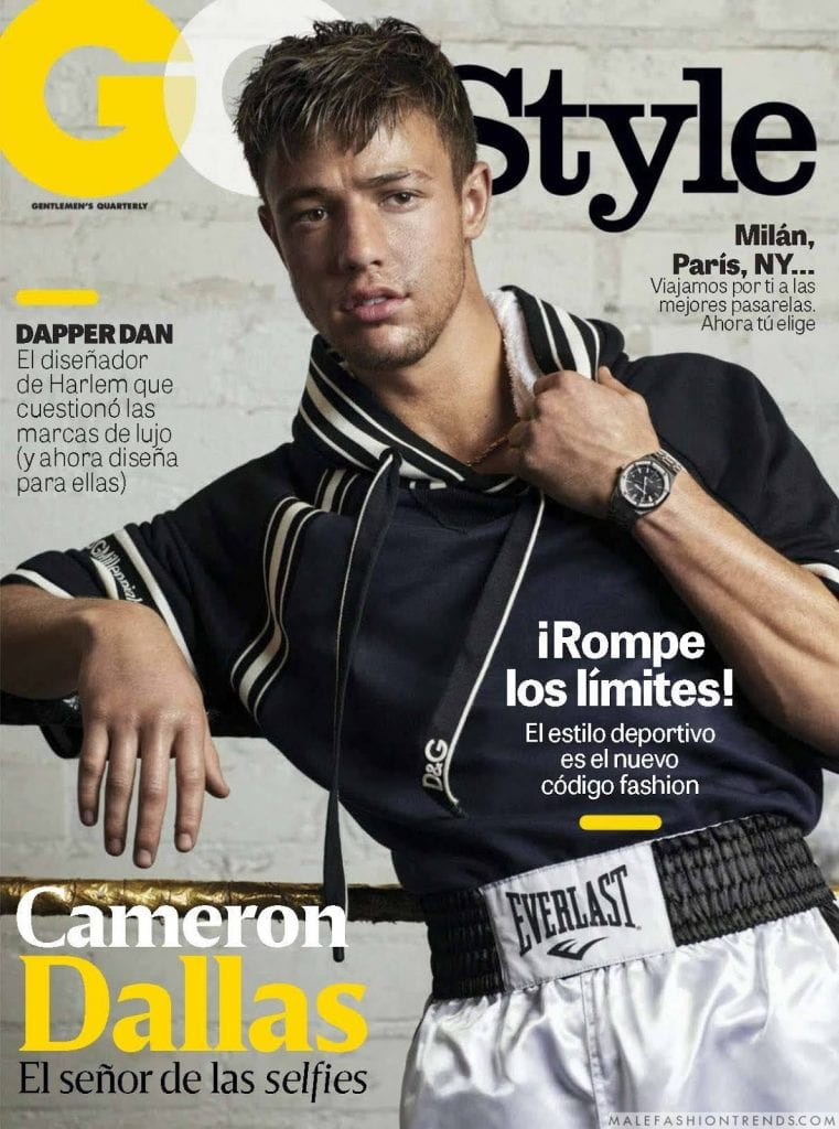 Cameron Dallas for GQ Mexico Cameron Dallas for GQ Mexico Vanity Teen 虚荣青年 Menswear & new faces magazine