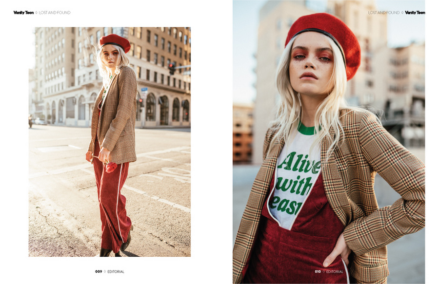 Lost and Found by Gigi Umbrasaite Lost and Found by Gigi Umbrasaite Vanity Teen 虚荣青年 Menswear & new faces magazine