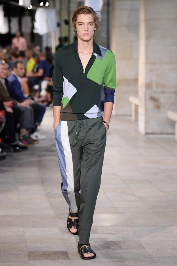 Hermès S/S 2019  Hermès S/S 2019 Vanity Teen Menswear & new faces magazine