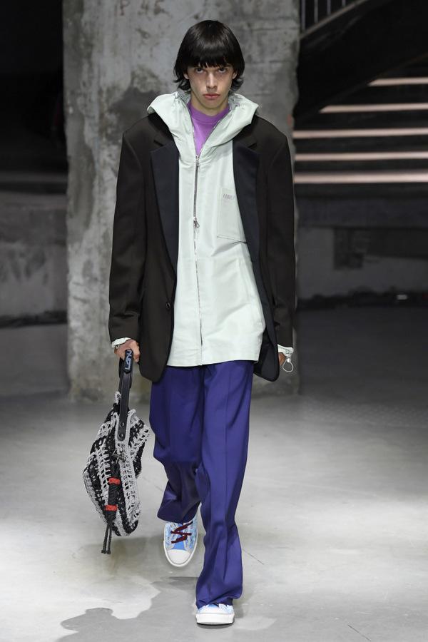Lanvin S/S 2019  Lanvin S/S 2019 Vanity Teen Menswear & new faces magazine