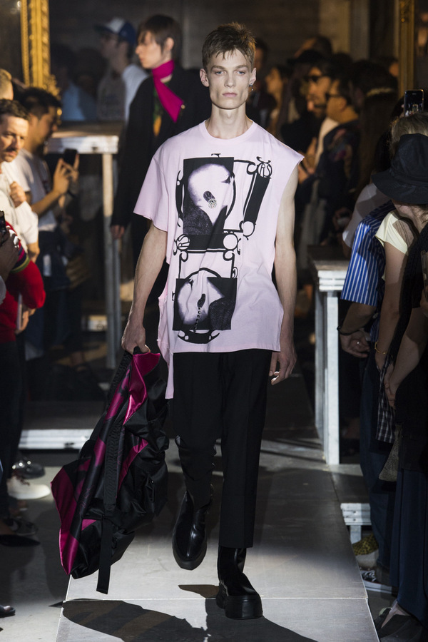 Raf Simons S/S 2019  Raf Simons S/S 2019 Vanity Teen Menswear & new faces magazine