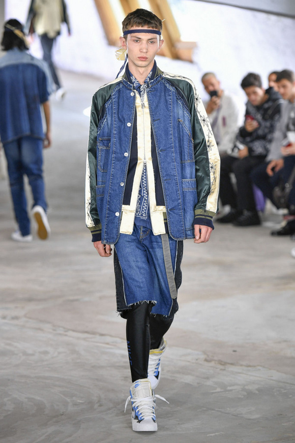 Sacai  S/S 2019  Sacai  S/S 2019 Vanity Teen Menswear & new faces magazine