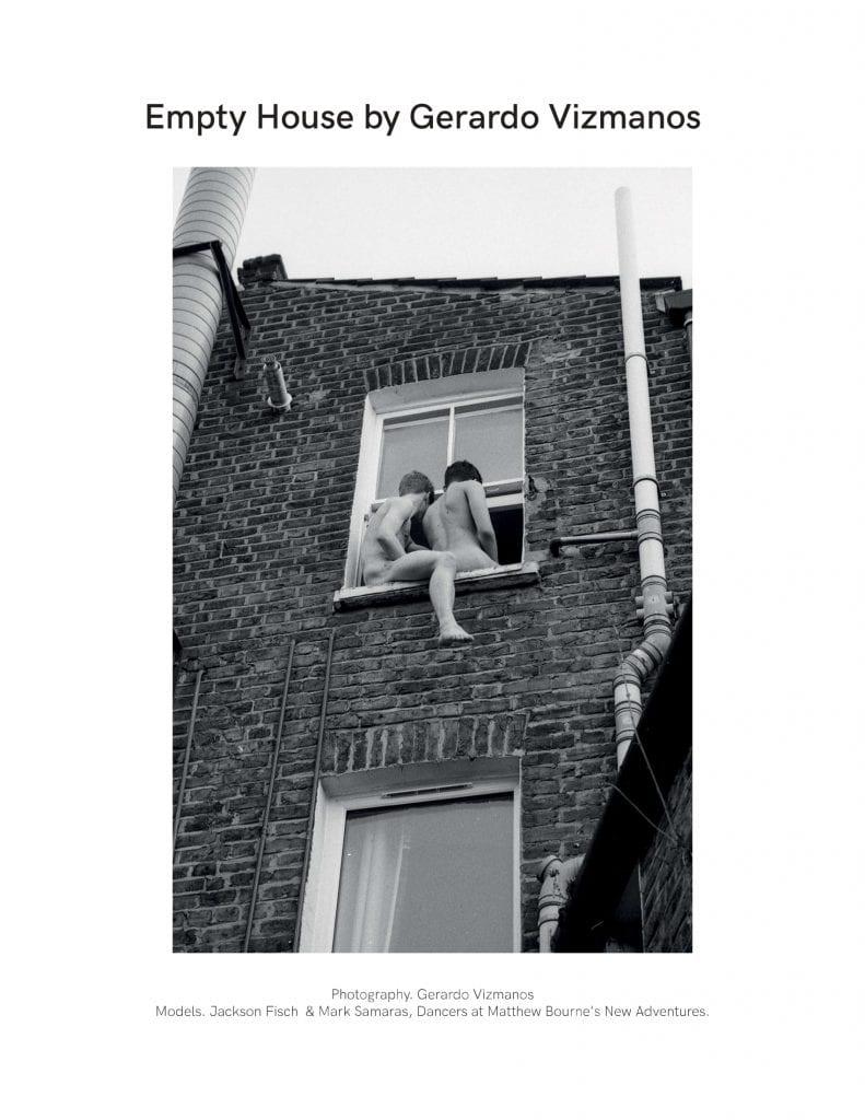 Empty House by Gerardo Vizmanos Empty House by Gerardo Vizmanos Vanity Teen 虚荣青年 Menswear & new faces magazine