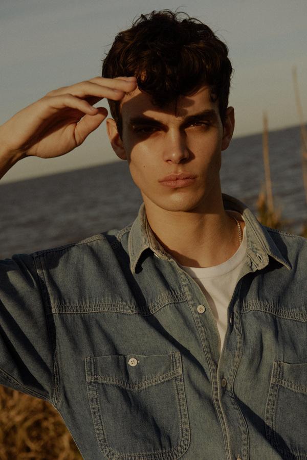 Genaro Scrocca by Agustin Prieto  Genaro Scrocca by Agustin Prieto Vanity Teen Menswear & new faces magazine