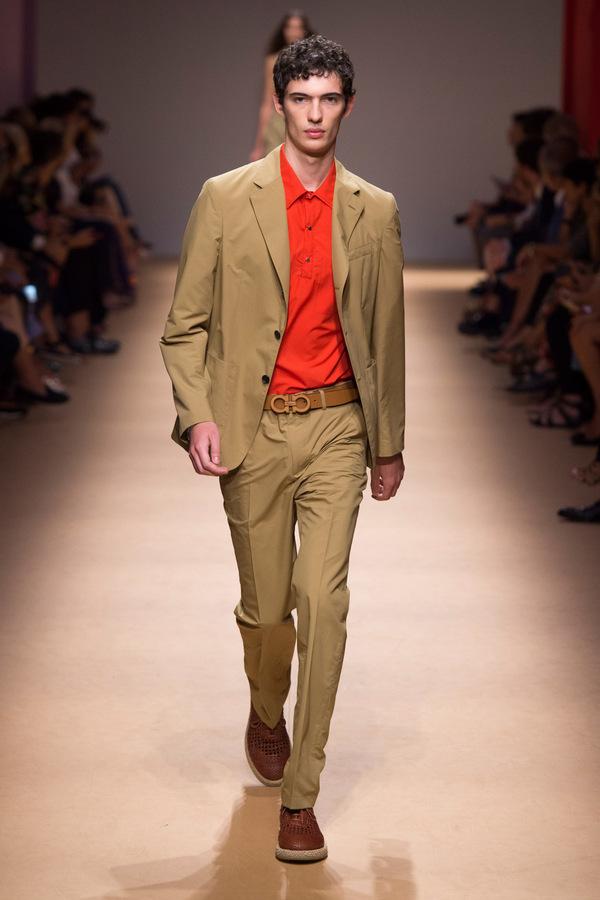 Salvatore Ferragamo Spring 2019 Salvatore Ferragamo Spring 2019 Vanity Teen 虚荣青年 Menswear & new faces magazine
