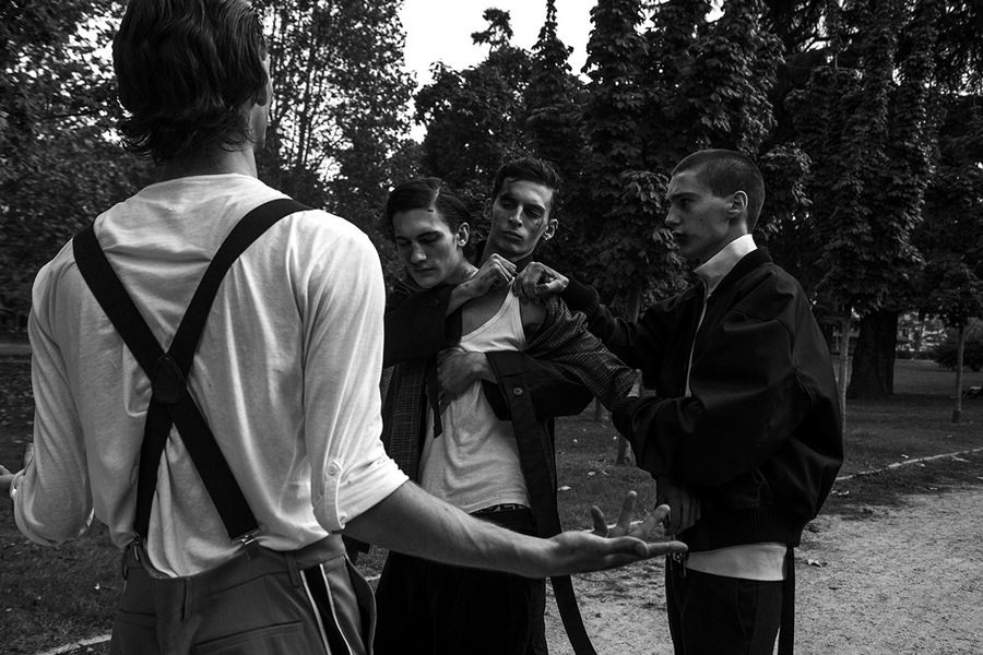 Suicide Boys by Livia Alcalde Suicide Boys by Livia Alcalde Vanity Teen 虚荣青年 Menswear & new faces magazine
