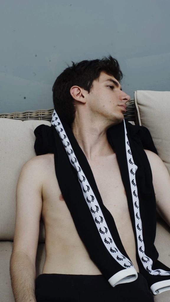 Daniel Berger; creator of popular new social app Wyd Daniel Berger; creator of popular new social app Wyd Vanity Teen 虚荣青年 Menswear & new faces magazine