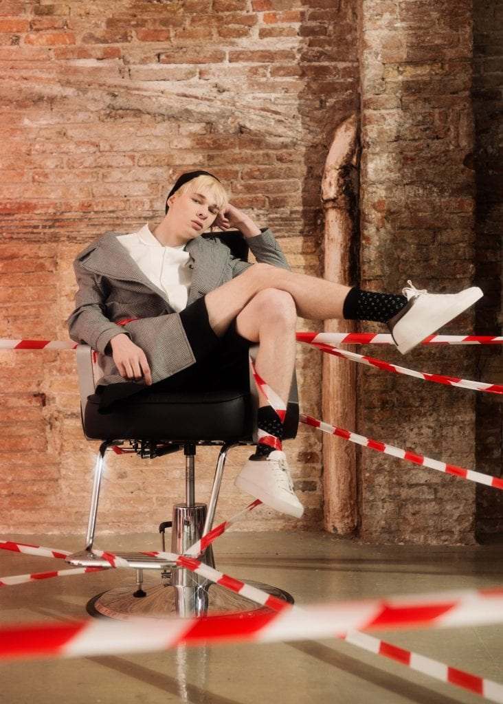 Eugene Lange by Arnau Solé Eugene Lange by Arnau Solé Vanity Teen 虚荣青年 Menswear & new faces magazine