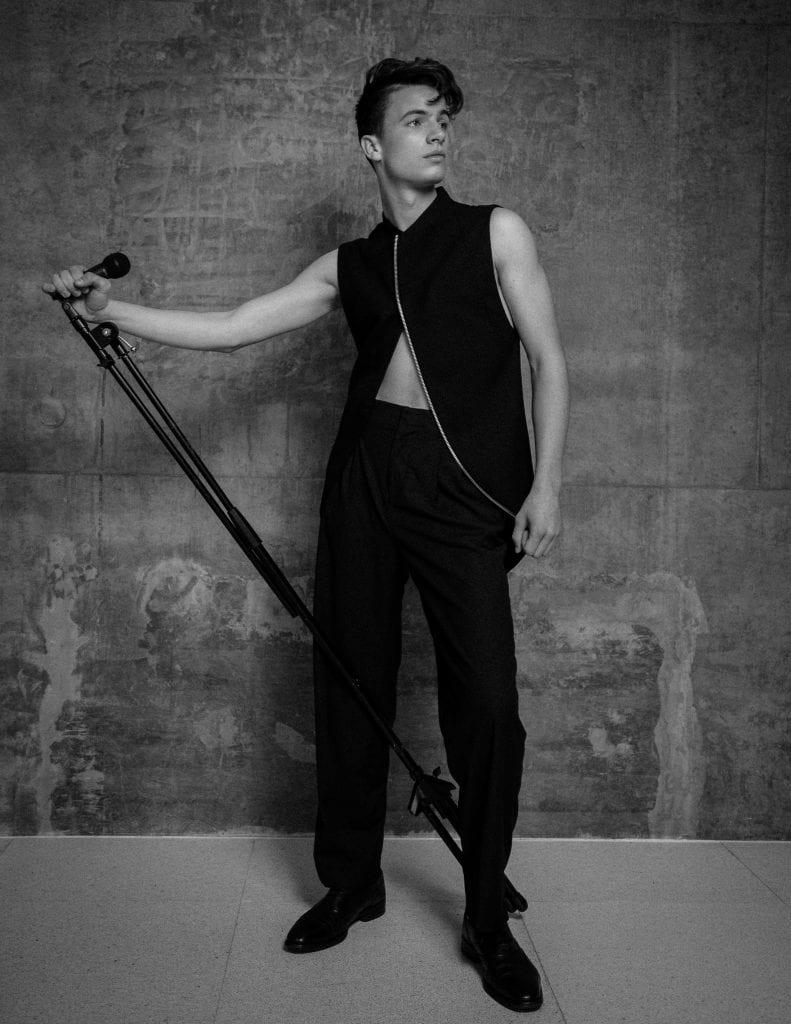 Greg Gontier by Henry Wu Greg Gontier by Henry Wu Vanity Teen 虚荣青年 Menswear & new faces magazine