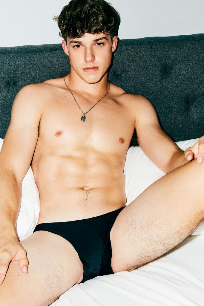 Sean Keneddy  Sean Keneddy Vanity Teen Menswear & new faces magazine