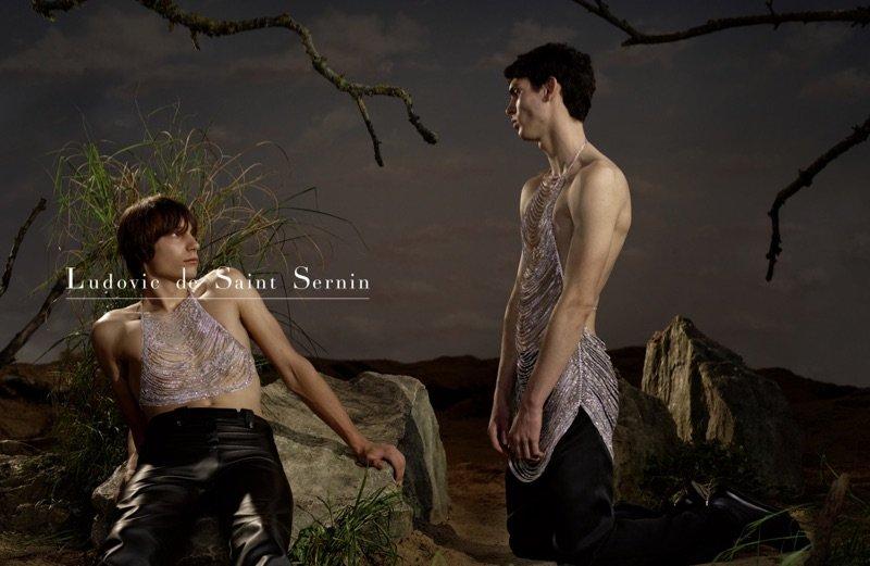 Ludovic de Saint Sernin F/W 2019 Ludovic de Saint Sernin F/W 2019 Vanity Teen 虚荣青年 Menswear & new faces magazine